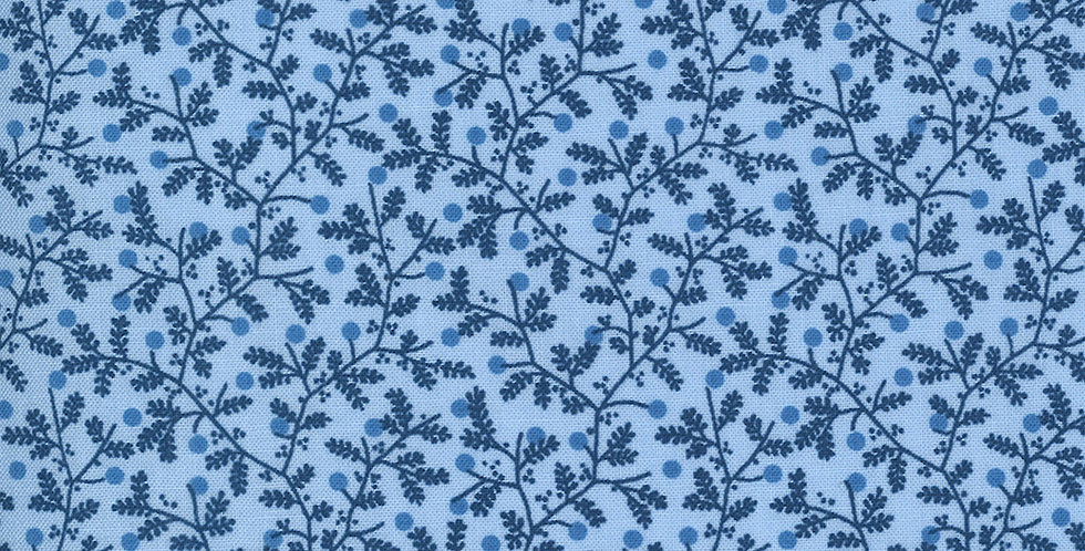 Moda Crystal Lane 2983 11 Cashmere Blue by Bunny Hill Designs