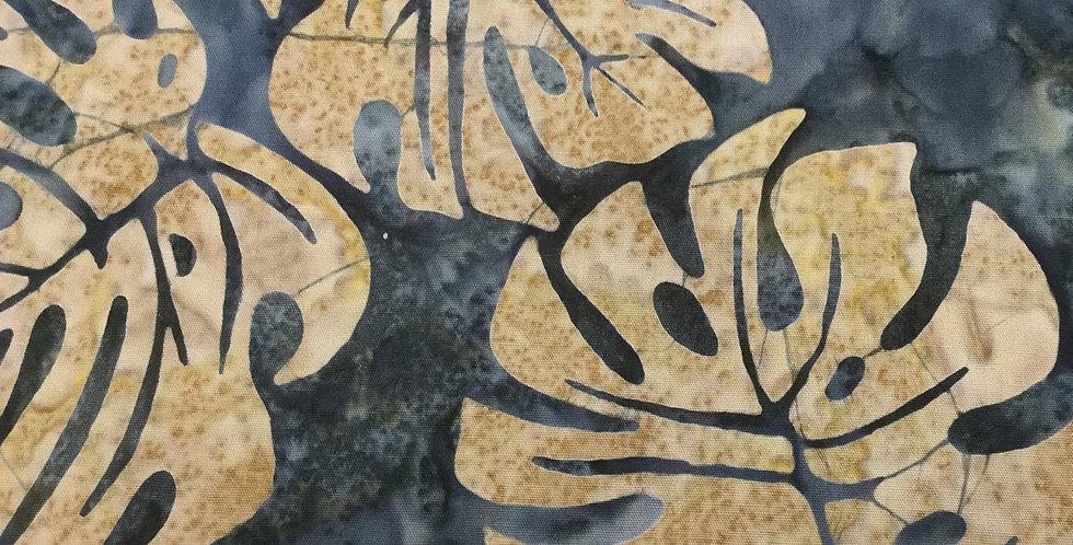 Michael Miller Fabrics - Batik Tropical Leaves BT8512-STON-D