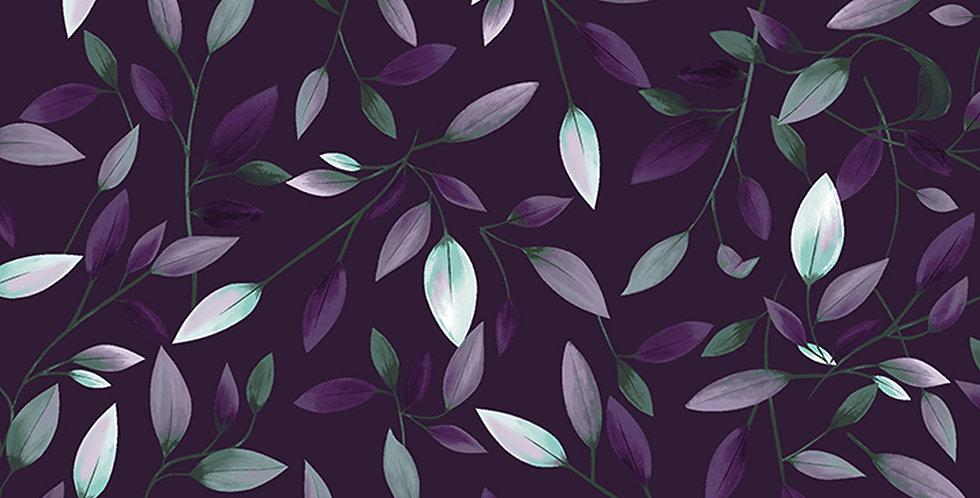Clothworks Amethyst Garden - Y2786-95 Indigo