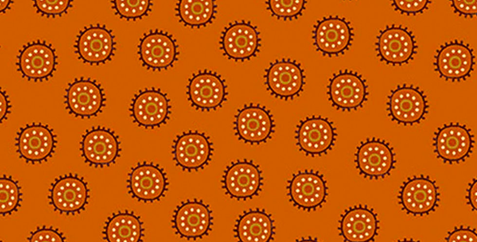Henry Glass & Co Autumn is Calling 2520-35 Pumpkin by Color Principle