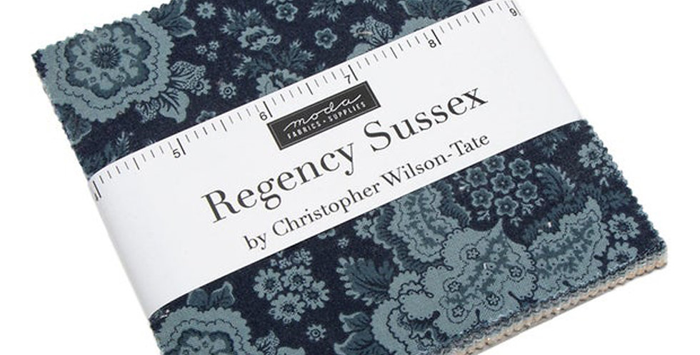 Moda - Charm Pack - Regency Sussex by Christopher Wilson Tate