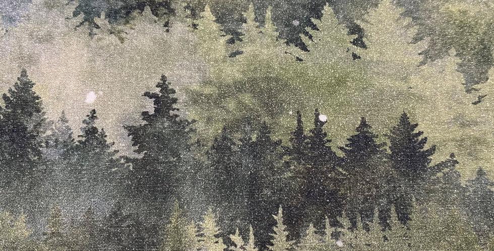 Hoffman Painted Forest - MRD4-44 Forest by McKenna Ryan
