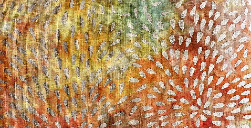 Kingfisher Fabrics Metallic Stamped Batiks - SSA20-1-4