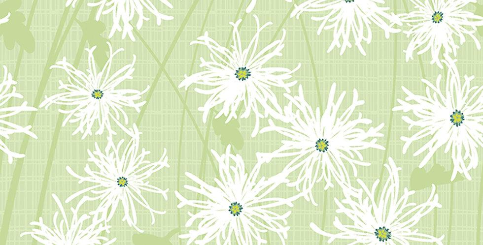 Clothworks Sunday Afternoon Y2887-23 Light Olive by Jim Ishikawa