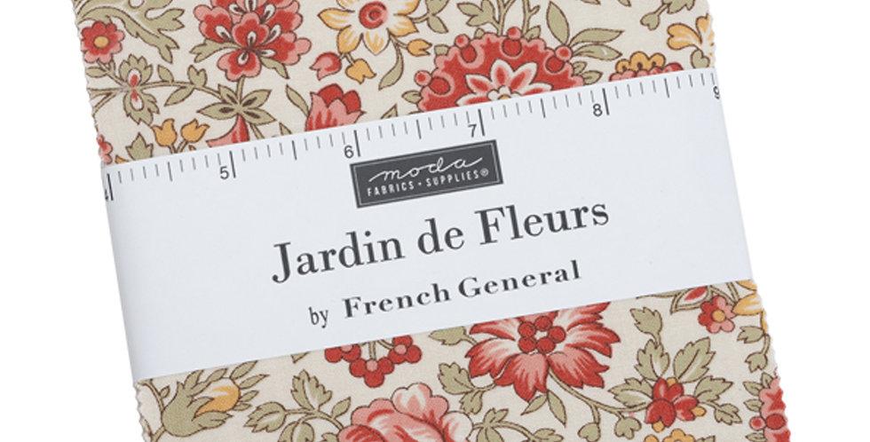 Moda - Charm Pack - Jardin De Fleurs by French General