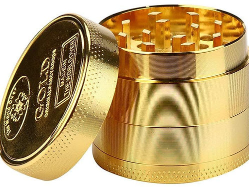 """""""Solid Gold"""" grinder"""