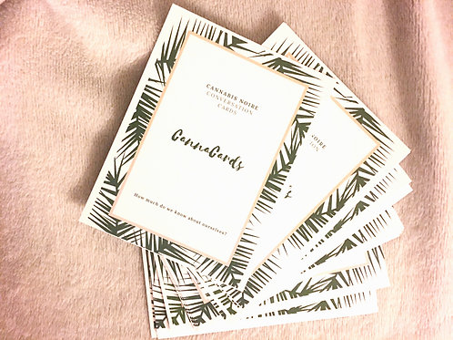 Cannabis Noire Convo Cards