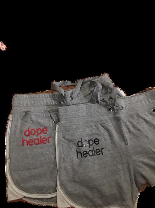 """Dope health"" gym shorts"