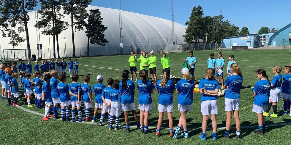 STOCKHOLM Höstlov Football Camp 1st to 4th November