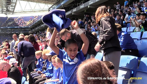 Here we leave a video where you can watch our academy in Barcelona with amazing RCDE experience. Every year we go to Barcelona, to our club RCD Espanyol de Barcelona