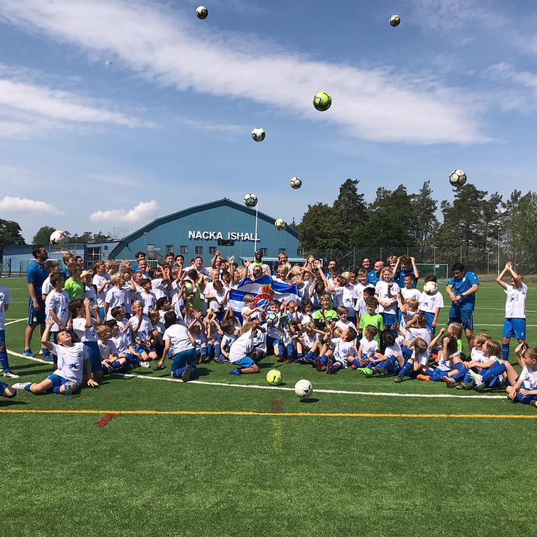 STOCKHOLM Football Camp 21th to 24th Juni (midsummer 25th Juni)