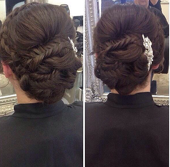 Bridal Hair - hair by sam