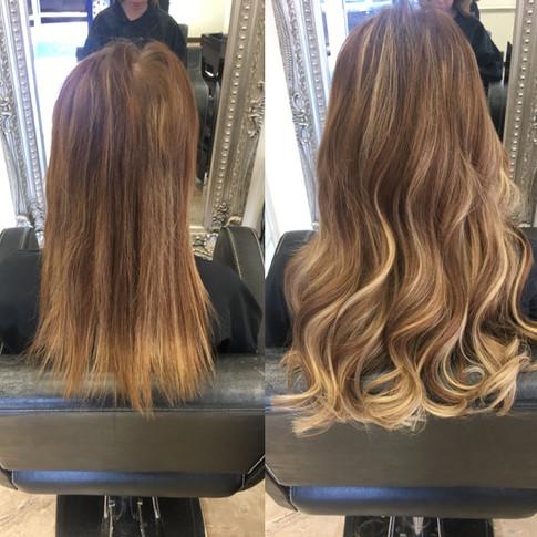 Hair extensions- hair by sam
