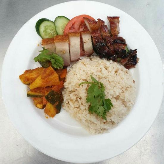 BBQ/Roasted Pork Rice
