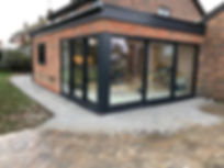 The house extention is completed, with kitchen due to be installed soon by Liquid Space Design Ltd.