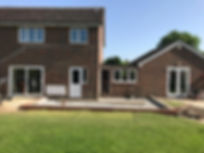 House renovation project and kitchen installation in Oxfordshire