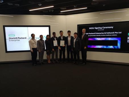 MoU with Hewlett Packard Enterprise
