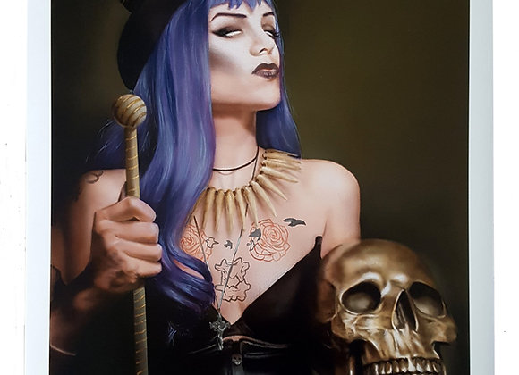 Voodoo Valkyrie Large Print