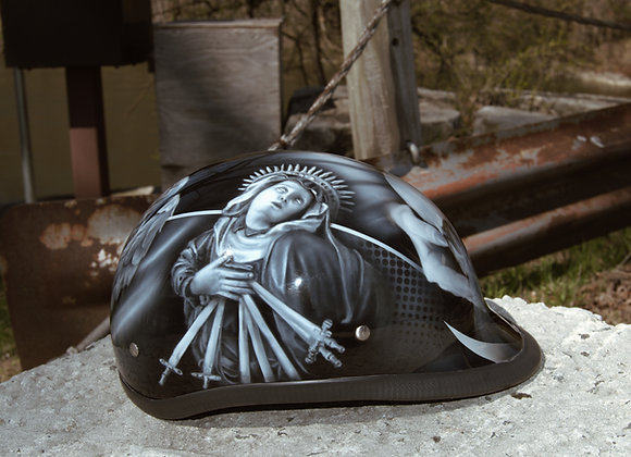 Religious Half Helmet