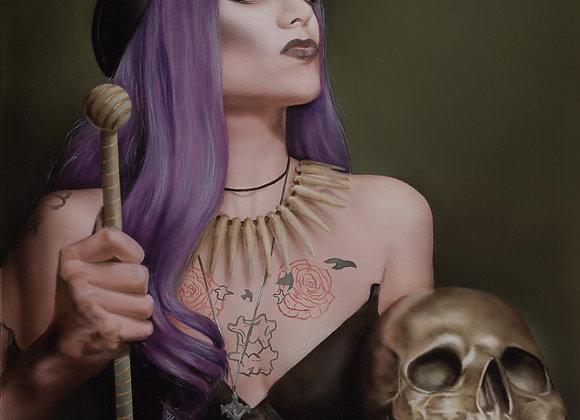 Voodoo Valkyrie Print