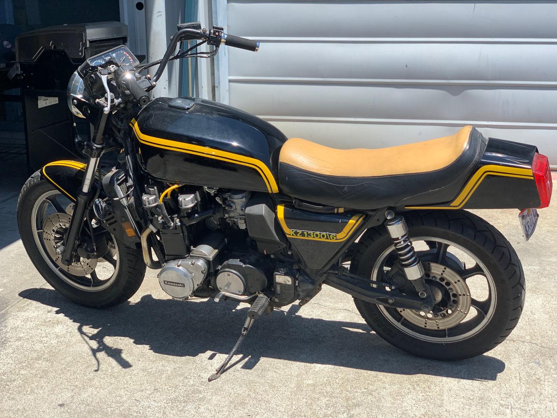 1980 Kawasaki KRAZKZ 1300 (six cylinder) - $5000