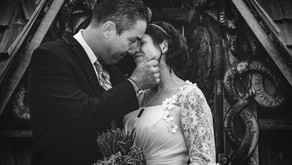 An Intimate Door County Wedding