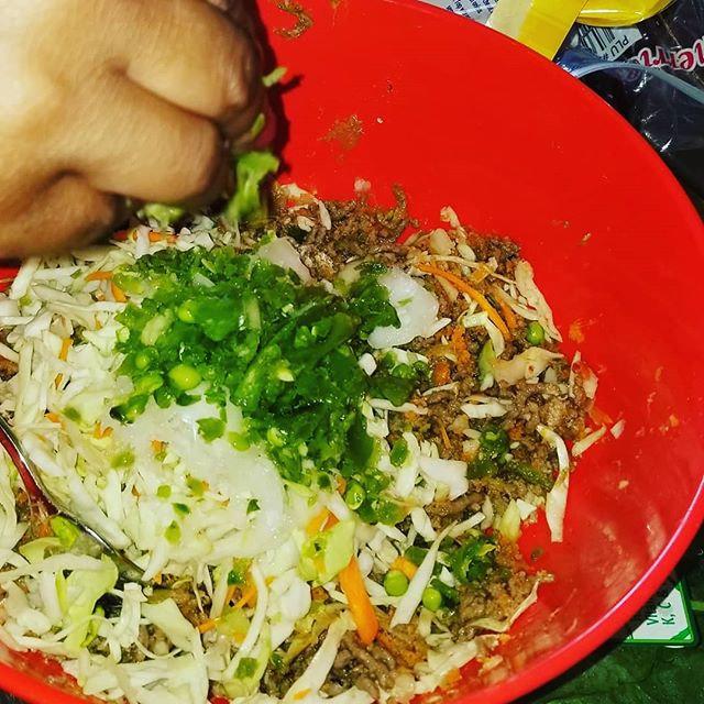 Veggie mix with _fieldroast (veggie meat