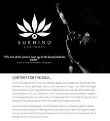 WEB COPY | Sukhino Captures