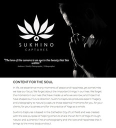 WEB COPY | Sukhino Captures