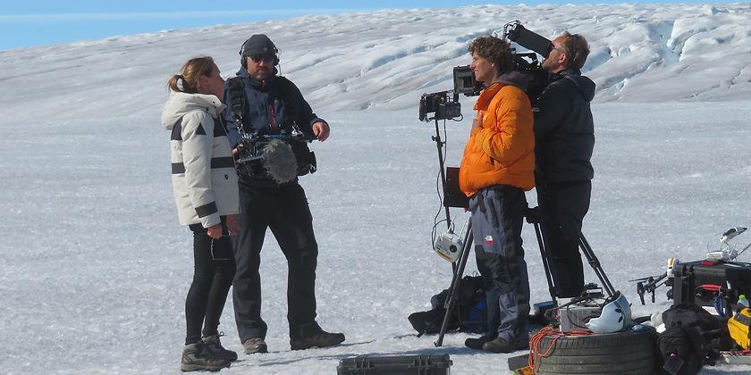 Greenland icecap interview Formula E