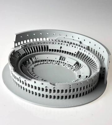 Wydrukowany model 3D Rzymskiego koloseum