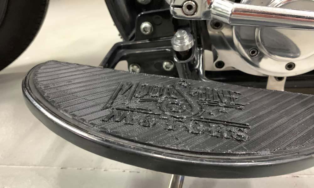druk 3d custom motocykl