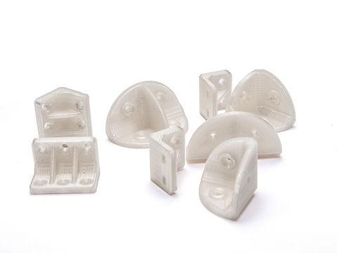 elementy montażowe wykorzystywane przy tworzeniu protez weterynaryjnych