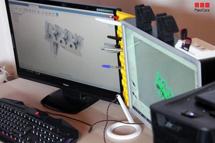 Etap rojektowania modelu 3D. Przebieg przygotowania pliku do druku przestrzennego.