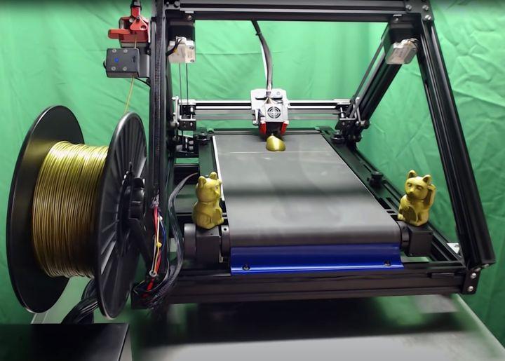 Taśmowa drukarka 3D. Creality Printmill