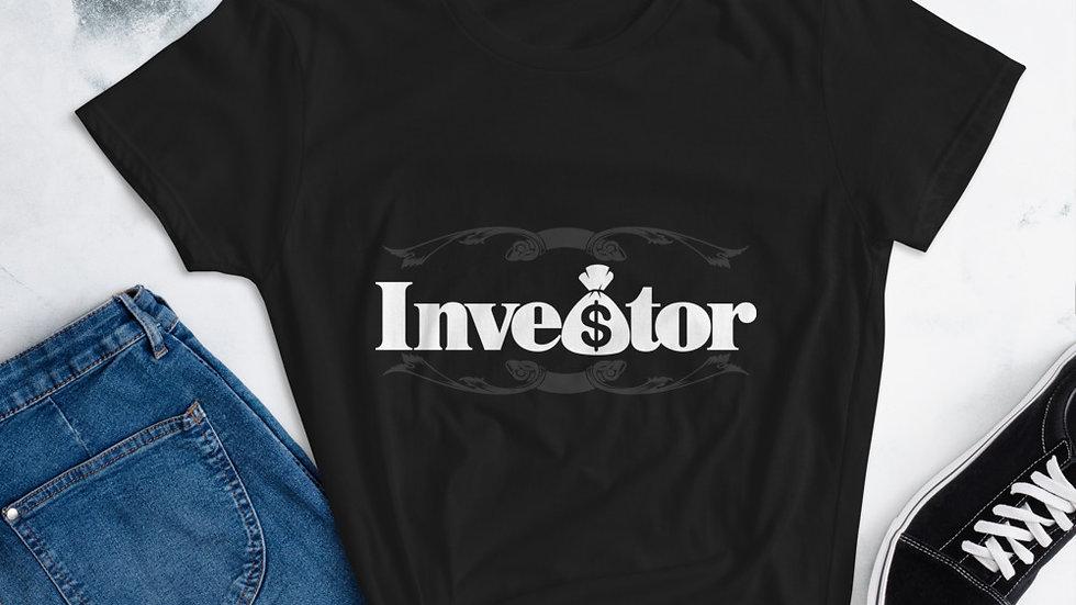 "Mommy's ""Investor"" short sleeve t-shirt"