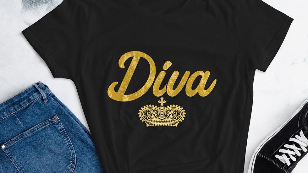 """Mommy's """"Diva"""" short sleeve t-shirt"""