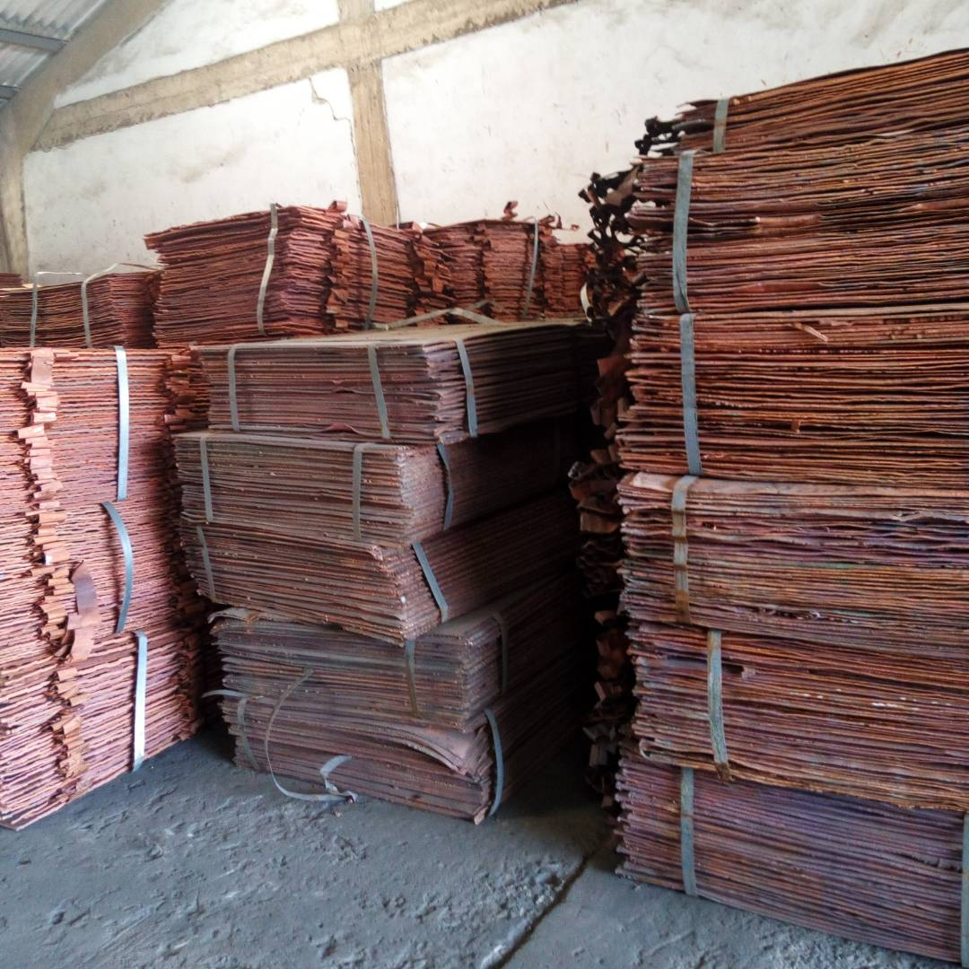 COPPER CATHODE-99.99% Cu