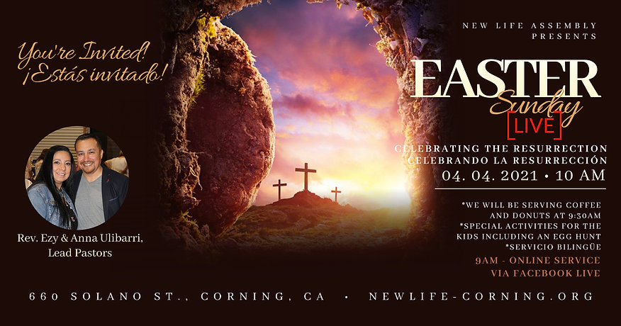 Copy of Church Easter Sunday LIVE Templa