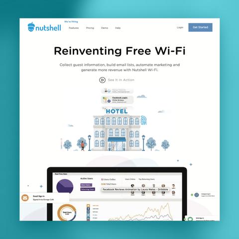 Nutshell Wifi Instagram Hotel Ad
