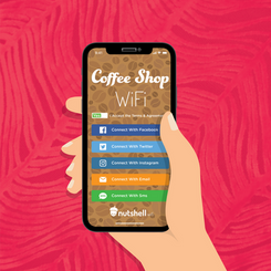 Nutshell Wifi Instagram Ad Campaign