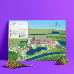 Four Seasons Orlando Map