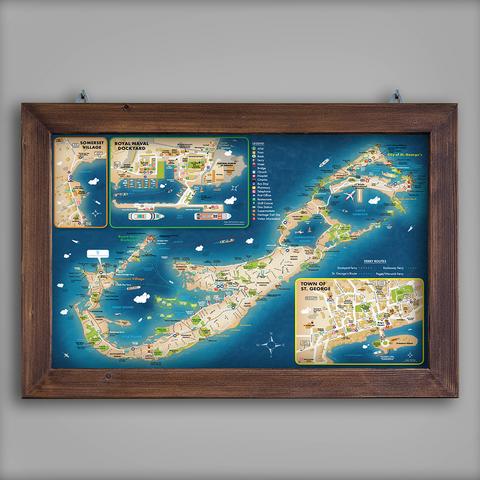 Cambridge Beaches Resort Map