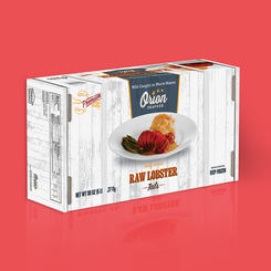 Chicken of the Sea - Raw Lobster Packaging