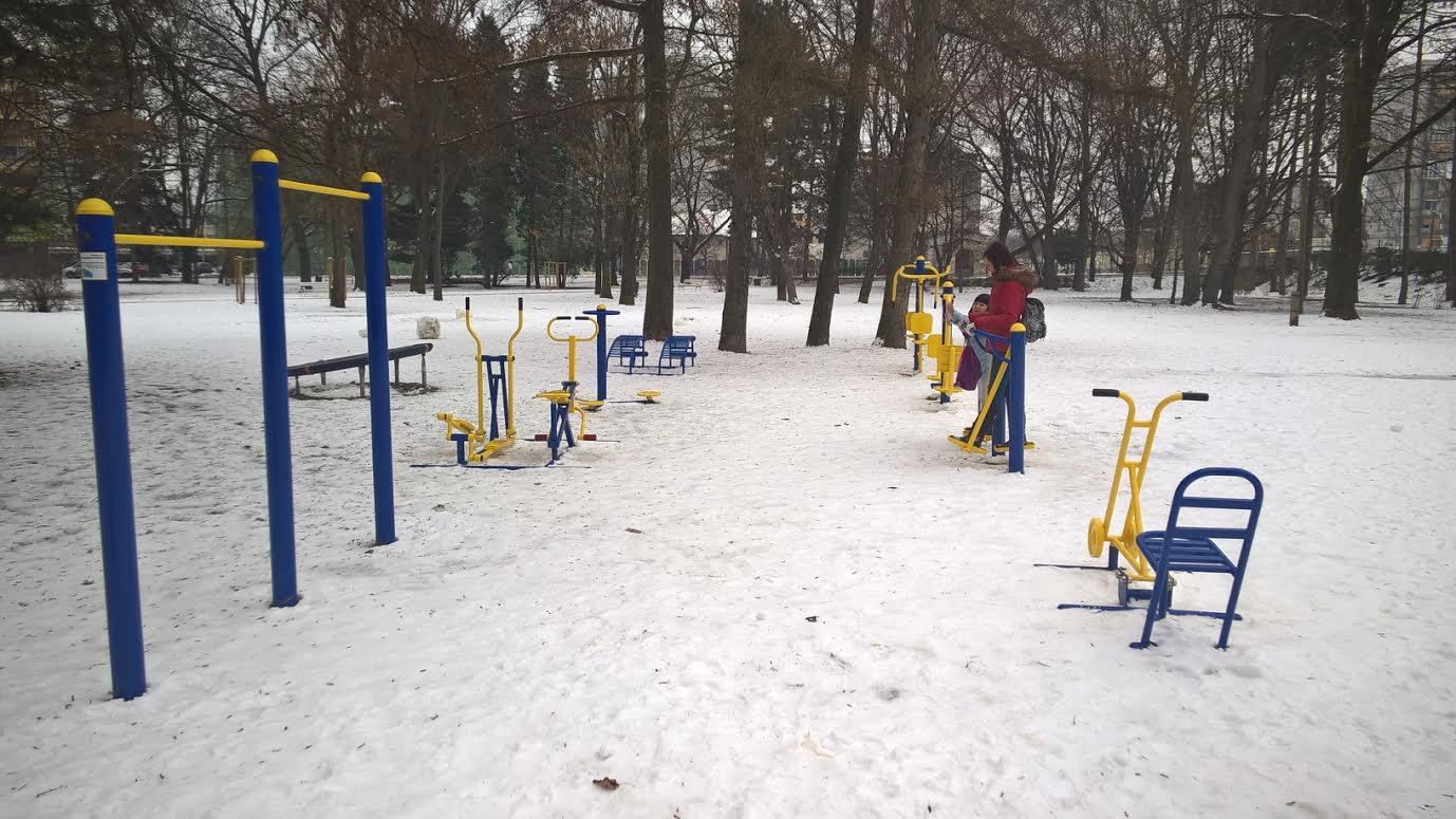 Natura fit Magdalenski park Maribor