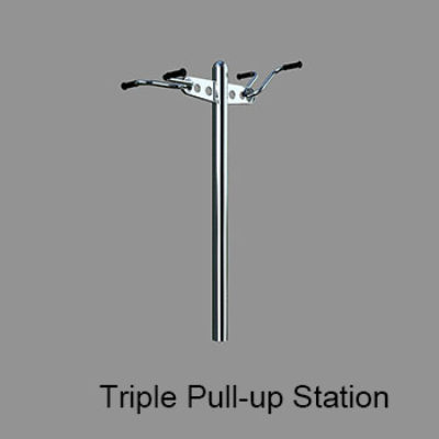 Triple Pull-up Station
