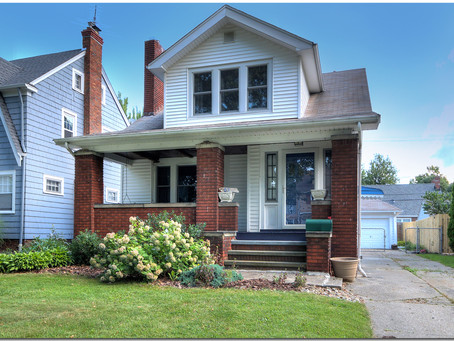 SOLD! Lovely bungalow near Edgecliff Beach Club- 85 E. 213 St., Euclid -- UNDER CONTRACT