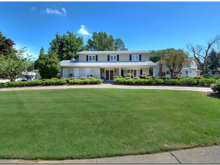 SOLD! Wonderfully-maintained updated home has picturesque yard & circle drive-4857 Foxlair Trail