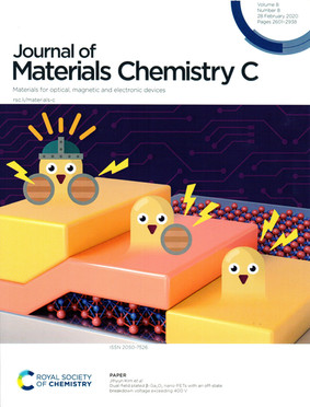 Journal of Materials Chemistry C, Volume 8, Number 8 (2020) 표지 논문