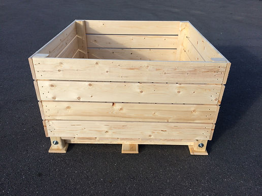 palox pomme, caisse pommes,  apple box, vegetable and fruit box, storage box